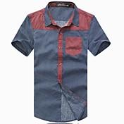 メンズ夏のファッションビッグサイズ半袖Tシャツ