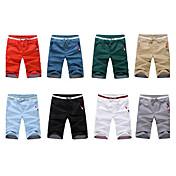 Debe Casual color sólido de mediana Duración pantalones º 1