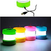 ABS樹脂のUSB LEDナイトライト(アソートカラー)
