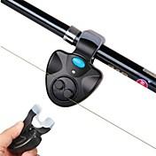 ヒットセンサー 釣り竿 耐久性 LEDライト 携帯式 アラーム LED ユニバーサル クリップオン 節電モード 電子 音活性化 簡単装着 川釣り 鯉釣り 一般的な釣り