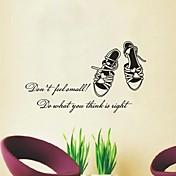 Zapatos Bodegones Decoración de pared pegatinas