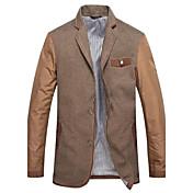 Sugerencia Moda Collar mamas hombres Casual chaqueta Blazer