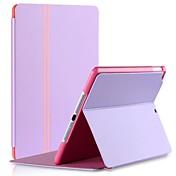 Vouni Keen Leather Serie de la raya del diseño de la PU con el soporte del caso de cuerpo completo para iPad Aire