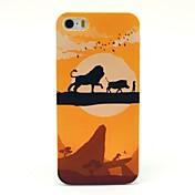 のために iPhone 5ケース パターン ケース バックカバー ケース カトゥーン ハード PC iPhone 7プラス / iPhone 7 / iPhone SE/5s/5