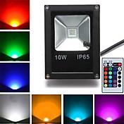 10W 800 lm LEDフラッドライト 1 LEDの ハイパワーLED リモコン操作 RGB AC85-265V