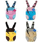 madre mochila de piel de canguro suave para perros y mascotas (colores surtidos y tamaños)