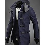 アレンメンズファッションすべての試合ソリッドカラーコート