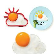 Gør Det Selv Form For til æg Rustfrit stål Kreativ Køkkengadget Miljøvenlig
