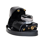 dengpin pu cámara de cuero cubierta de la bolsa caso para sony ILCE-6000L A6000-ILCE 6000 con lente de 16-50mm (colores surtidos)