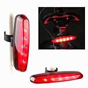 自転車用ライト LED電球 後部バイク光 レーザー LED - サイクリング 変色 警告 レーザー LEDライト 400 ルーメン USB サイクリング