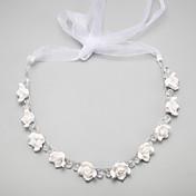 Dame Blomsterpige Legering Imiteret Perle Medaljon-Bryllup Speciel Lejlighed Pandebånd 1 Stykke