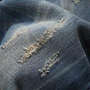Hombre Casual Tiro Medio Microelástico Vaqueros Pantalones,Un Color Algodón Primavera Otoño