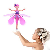 Heliccótero de radiocontrol  Hovering Angel 2ch Flotar Control Remoto Control remoto Luz del arco iris Flying Fairy Princess Sobre tu mano