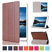 Patrón triple desplegable caso de alta calidad de 7,9 pulgadas cuero de la PU para el iPad (2017) Pro10.5 Pro9.7 iPad Air Air2 iPad234 mini 1234