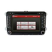 GPSとフォルクスワーゲンのための車のDVDプレーヤー、CANBUS、RDS、BT、駐車軌跡は、iPod、タッチスクリーンを2DIN 7インチ