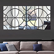 Formas 3D Pegatinas de pared Adhesivos de Pared Espejo Calcomanías Decorativas de Pared,Vinilo Decoración hogareña Vinilos decorativos
