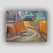 Pintada a mano Abstracto / Famoso / Naturaleza muerta / Fantasía / OcioEstilo / Modern / Realismo Un Panel LienzosPintura al óleo pintada