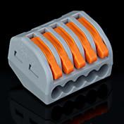 長さをストリッピング50pcsのPCT-215 400V / 4kVの/ 32A汎用コネクタ0.08-2.5mm²0.08-4.0mm²/単一のマルチワイヤ9〜10ミリメートル