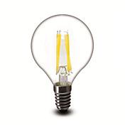 E14 Bombillas de Filamento LED G45 4 COB 400 lm Blanco Cálido 2700 K Regulable AC 100-240 V