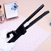 iones profesional esmalte cerámico férula eléctrica plancha de pelo clip de recta enderezar hierro