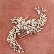 Perla Artificial Zirconia Cúbica Legierung Peinetas Celada