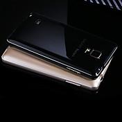 のために Samsung Galaxy Note メッキ仕上げ ケース バックカバー ケース ソリッドカラー メタル Samsung Note 5 / Note 4 / Note 3