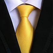 Slips (Gul , Polyester) Ensfarvet