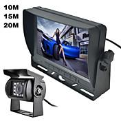 """renepai® 7 """"TFT en color de la cámara de visión kit de herramienta de la seguridad del coche del monitor del espejo retrovisor del coche"""