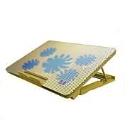 スタンドホルダーPCのラップトップノートブックと人間工学に基づいた調整可能なクーラー冷却パッド