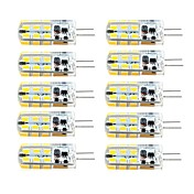 G4 LED2本ピン電球 T 81 LEDの SMD 2835 調光可能 温白色 クールホワイト 260lm 3000/6000K 交流220から240 DC 12 AC 12V