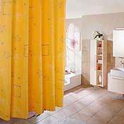 シャワー用カーテン-バロック調-ポリ/コットンブレンド-180X200CM