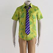 Inspirado por Mella Animé Disfraces de cosplay Trajes Cosplay Estampado Camisas Pantalones Corbata Para Hombre Mujer
