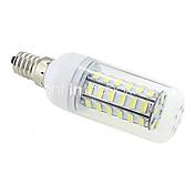 10W E14 / G9 / B22 / E26/E27 LEDコーン型電球 T 48 SMD 5730 1000 lm 温白色 / クールホワイト 交流220から240 V
