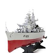 RCボート HT 3827A 軍艦 リモートコントロールボート 2 チャンネル 20 KM / H RTF 大きいサイズ