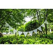 Boda / Aniversario / Pedida / Despedida de Soltera Tela de Encaje Decoraciones de la boda Tema Playa / Tema Jardín / Tema Floral Invierno