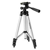 ismartdigi I-3110の4セクションのカメラ三脚(シルバー+ブラック)のすべてのd.camera v.cameraニコンキヤノンソニーオリンパスのための...