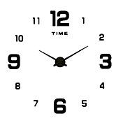 コンテンポラリー / カジュアル 家族 壁時計,円形 / ノベルティ柄 アクリル / メタル / ステンレス鋼 50 屋内/屋外 / 屋内 / 屋外 クロック