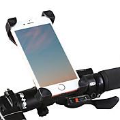 自転車用マウント 自転車用スマホマウント レクリエーションサイクリング サイクリング/バイク マウンテンバイク ロードバイク BMX TT 固定ギア 女性 折り畳み自転車調整可能 超軽量(UL) 耐久 人間工学デザイン 滑り止め 360°フリップフライト 回転可 携帯電話