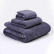 フレッシュスタイル バスタオルセット,刺繍 優れた品質 コットン100% ニット タオル