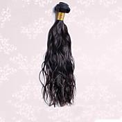 Tejidos Humanos Cabello Cabello Brasileño Ondulado Natural 1 Pieza los tejidos de pelo