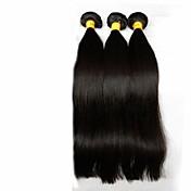 Tejidos Humanos Cabello Cabello Malayo Recto los tejidos de pelo