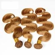 Tejidos Humanos Cabello Cabello Brasileño Ondulado Grande los tejidos de pelo