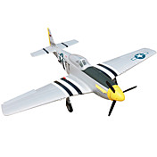 P51D Mustang 4CH 2.4G 1:8 RC飛行機 50KM / H 一部組立てが必要