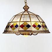Tiffany Tradicional/Clásico Retro Lámparas Colgantes Para Sala de estar Dormitorio Comedor Habitación de estudio/Oficina Habitación de