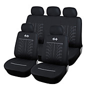 autoyouth accesorios interiores del coche universal de ajuste más protector de asiento de la cubierta de asiento de coche de poliéster en