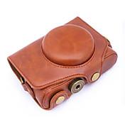 キヤノンのPowerShot sx720さhsのsx720のためのdengpin®PUレザーカメラケースバッグカバー(アソートカラー)