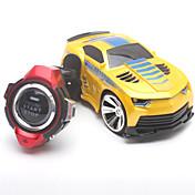 Coche de radiocontrol  JJRC 2.4G Buggy Smart Watch Control de Voz RC Coche 1:24 Brushless Eléctrico 30 KM / H Control remoto Recargable