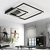 Montage de Flujo ,  Moderno / Contemporáneo Pintura Característica for LED MetalSala de estar Dormitorio Comedor Habitación de