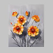 フレーム50は、* 60センチメートル手塗りの油絵花の花