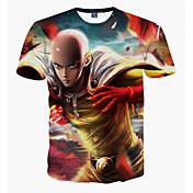 Hombre Deportes Estampado - Camiseta